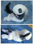 Absol Beanie Plush by FollyLolly