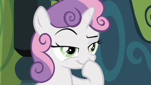 Mischevious Sweetie Belle by CloudshadeZer0