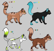 Cat Adopts by SplatterTheKitty