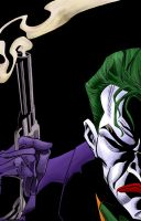 Joker's colouring exercise by Asaph
