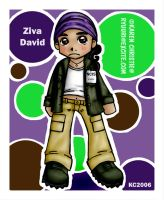 NCIS- Chibi Ziva David by ryuuri
