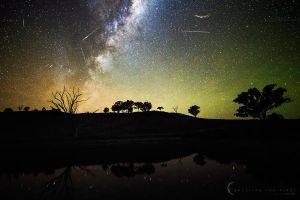 Eta Aquarids 2014 by CapturingTheNight