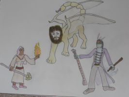 Manticore Watchers 2 by ThePoisonSword