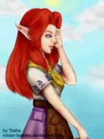 Malon - TLOZ : OoT by minor-heaven