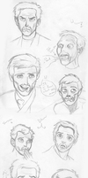 House MD expressions pencil by Takineko