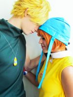 Digimon Cosplay: Sora and Matt Love by nandonagisa
