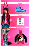 (closed) Adoptable: Devil Girl by LoLLiie