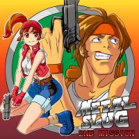 Metal Slug 2nd mission ~NEOGEO Pocket by kamiomutsu