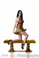 Leopard Print and Gold 3 by MordsithCara