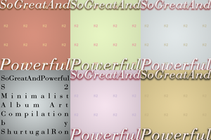 SoGreatAndPowerful S2 Minimalist Album Art by ShurtugalRon