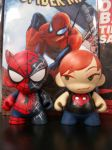 Munny Spidey and MJ by KidNotorious
