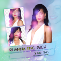 Rihanna Png Pack by SuBiebs