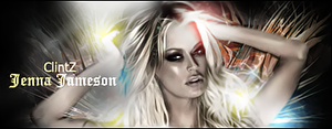 21 -Jenna Jameson Signature by clintzzy