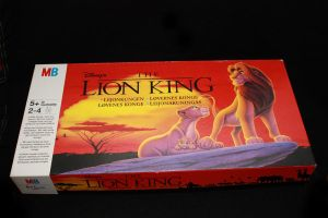 Lion King boardgame by Takadk