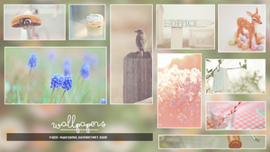 Wallpapers #1: Tonada pastel. by Maleficeent