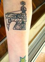 Sewing Machine Tattoo by Ashler-Sauce