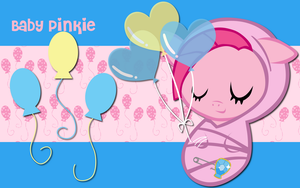 New Born Pinkie Pie WP by AliceHumanSacrifice0