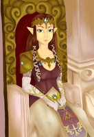 Her Royal Highness, Princess Zelda by Kyraktos
