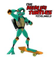 ninja turtles: Mikey by jamce