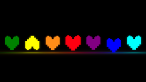 Undertale: Hearts (orthographic view) by Mitsuma
