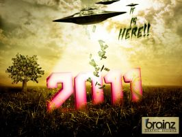 "2011 - ""It is here"" by Brainz-Designz"