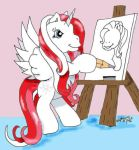 Morning Star Drawing by Sango31283