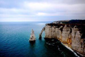 White Cliffs of Normandy by annamarcella24