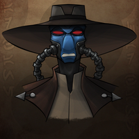 Cad Bane WIP 90% Complete by Geekincognito