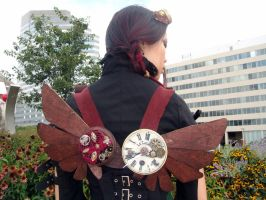 Steampunk Wings 3 by livetoletlive