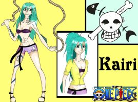 One Piece OC Kairi by SparklingCat