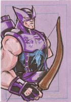 Hawkeye by cmkasmar