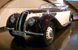 1937 BMW 327 Cabrio by someoneabletofindana