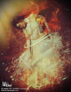 Angel of Fire by alihot2