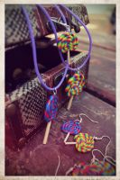 lollipops jewelry by maryazzfire
