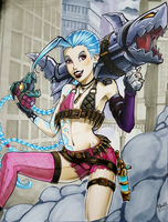 Jinx - The lose canon by pillowds