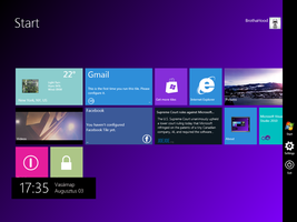 Windows 8 Start Screen by fogelsoft