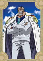 Monkey D. Garp - One Piece by xxJo-11xx