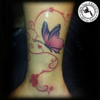 butterfly by arturtattooart