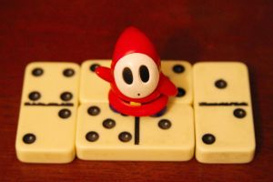 Shyguy and Dominos by ShawnHenry