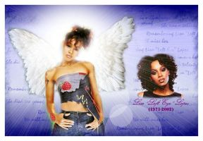R.I.P. Left Eye by pepsipepsibaby