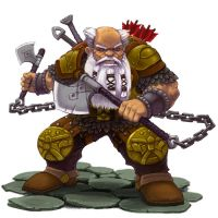 Dwarven Fighter by Patmos