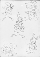 Rufus Sketches by E-122-Psi
