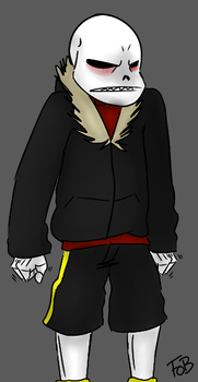 Underfell Sans Colored by morbrid