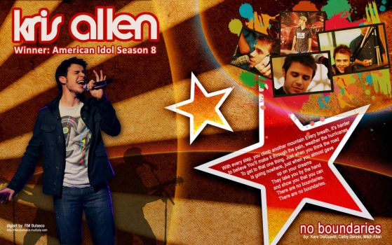 Kris Allen by baloneyart