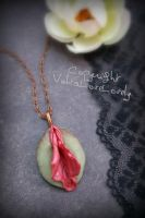 Spring's Seduction Vulva Pendant by VulvaLoveLovely