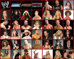 wwe superstars by joyceeleen