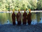 Monks by the river by Love-And-Cyanide88