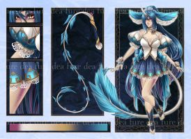 Adopt: LimitedEdition: Water Lily Kirin [Closed] by furesiya