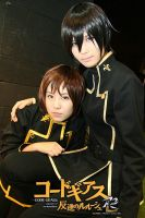 Lelouch and Rolo by r-kira