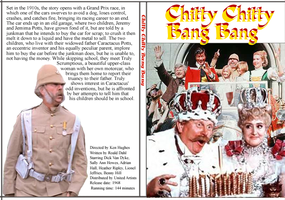 Chitty Chitty Bang Bang DVD Cover by Black-Battlecat